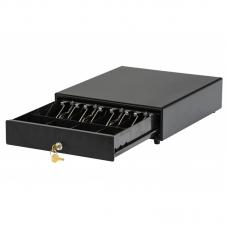 Денежный ящик АТОП SB-245 (черный,механич., 245*320*90 мм)