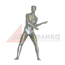 Женский манекен  (серебро) / теннисистка