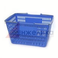 HD-C0109 / Корзина покуп-я пласт.(30 лит.) синий