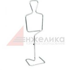 3019  Манекен металлический детский , мальчик 1360*370 мм.