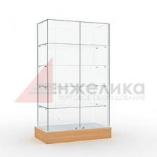 Витрина 2000*1000*400 мм. / 4 полки, стекло 6 мм. (А3)