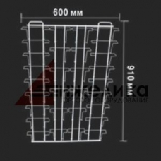 ASWK 30/Навес.стенд (белый, ячеек 30 шт.), 910*600 мм, А5-18 шт., А6-12 шт.