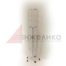 А-29 к / Стеллаж д/печат. продукции ф.А-4/белый, 1790*420 мм., А4- 32 шт.