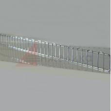 HDFF / Ограничитель полки (хром) 990*85 мм