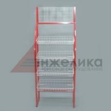 HD-Е0134 / Торговая стойка сетчатая (пр.Китай)