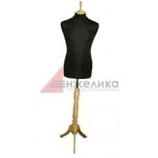 Манекен мужской р.48-50 (нога светл..дерево)/черный