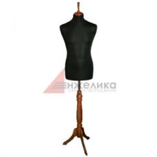 Манекен мужской р.48-50 (нога крас.дерево)/черный