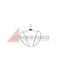 QXN027 / Силуэт под нижнее белье, хром