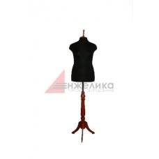 Манекен женский р.52-54 (нога красн..дерево)/черный