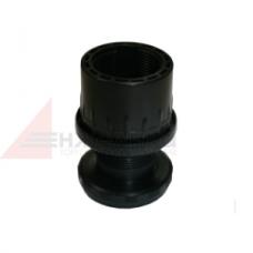 PL / F-15/50   Регулируемая ножка черная d=50