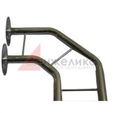 01/Связка 2-хтруб с креплением L=2400 мм