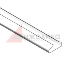 М-370 / Вставка пластиковая / белая  L=1200 мм