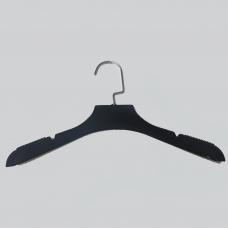 3013 / Плечико д/одежды черное 390 мм