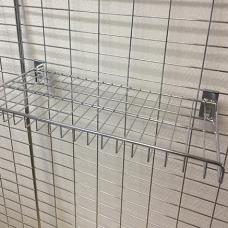 TZ  QB015 / Полка прямая 300*600 мм (хром). пр.Китай