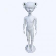 М-201 Манекен девочка (белый)