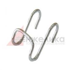 S-образный крючок двойной / S-003/D 16
