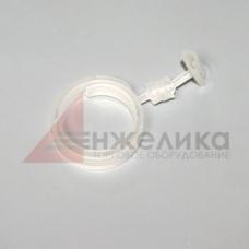 Держатель ценника на цилиндр.поверх-сть PG41000 (прозрачный, пластик)