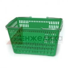 HD-C0109 / Корзина покуп-я пласт.(30 лит.) зеленая