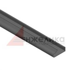 Вставка пластиковая / черная  L=1200 мм