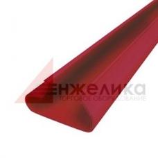 Вставка пластиковая / красная  L=1200 мм