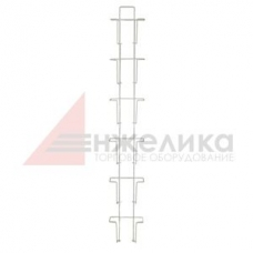 А-24-6  / Навесной дисплей(белый) д/печат. прод., 906мм,  А6 - 6 шт.