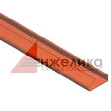Вставка пластиковая / оранжевая L=1200 мм