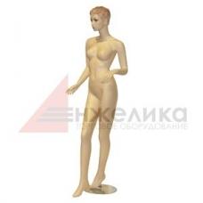 /А01-27  / Женский манекен / телесный , подставка (металл.)